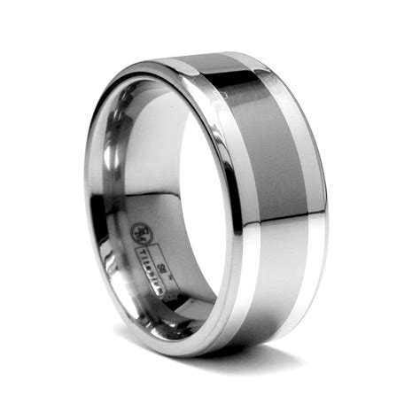 Titanium Rings by Titanium Wedding Ring Wedding Ring Styles