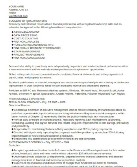 Sle Summary For Resume by Executive Summary Of Your Resume 28 Images Sle Resume