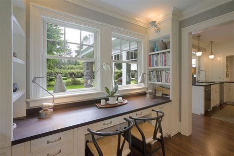 houzz home desk traditional home office portland by emerick