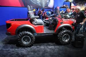 Black 2014 Ford Mustang Ford F 150 Svt Raptor Golf Cart Anyone Ford Trucks Com