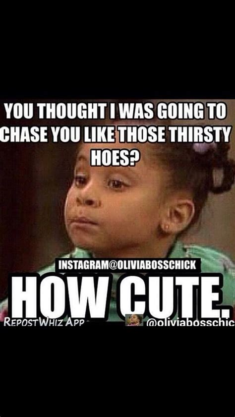 Thirsty Bitches Meme - 25 best ratchet quotes on pinterest silly animal