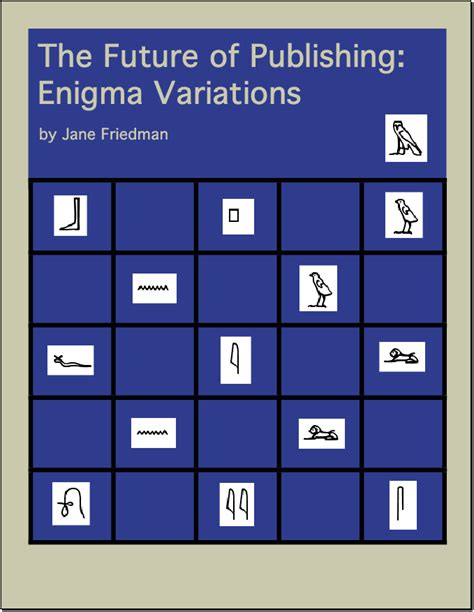 enigma variations a novel books future of publishing friedman