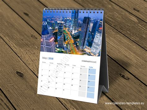 table calendar 2018 template free 2018 desk tent calendars templates kb40 printable table