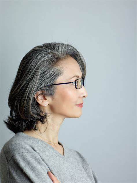 mayuko gray hair style 50 shades of silver pinterest 17 best images about beautiful silvers on pinterest hair