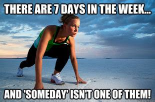 Monday Workout Meme - 7 days fitness memes quickmeme