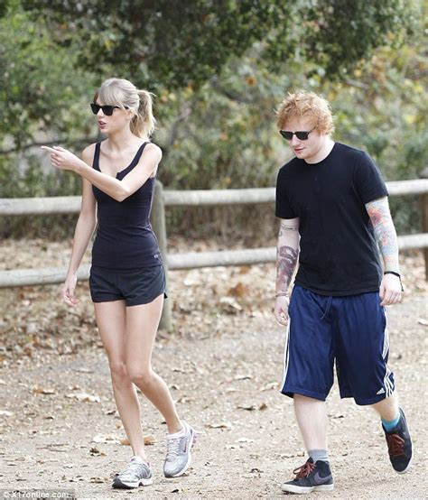 Cape Cod House Australia - taylor swift puts her long legs on display in tiny shorts as she enjoys a hike with buddy ed