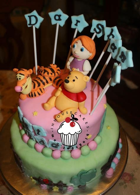 figurine cake tigger pooh darby inhousecakes
