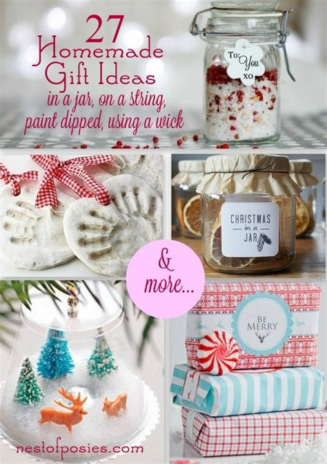 christmas crafts homemade gifts