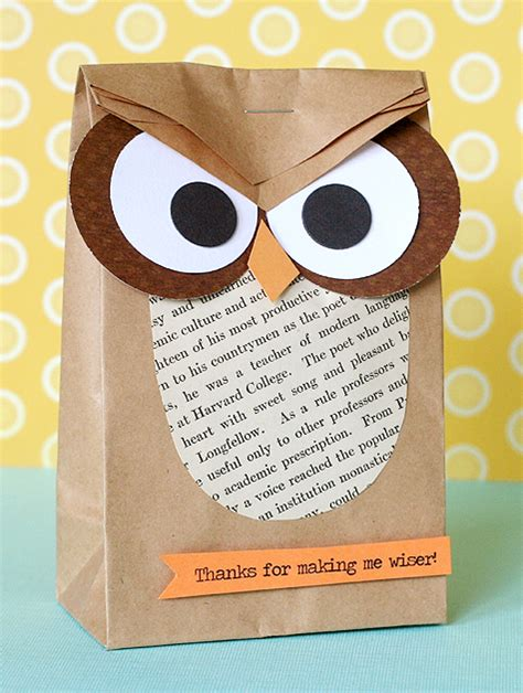 How To Make A Paper Bag Owl - amazing brown paper bag tutorials u create