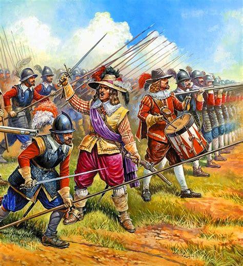 themes of the english civil war history 17th century warfare english civil war new