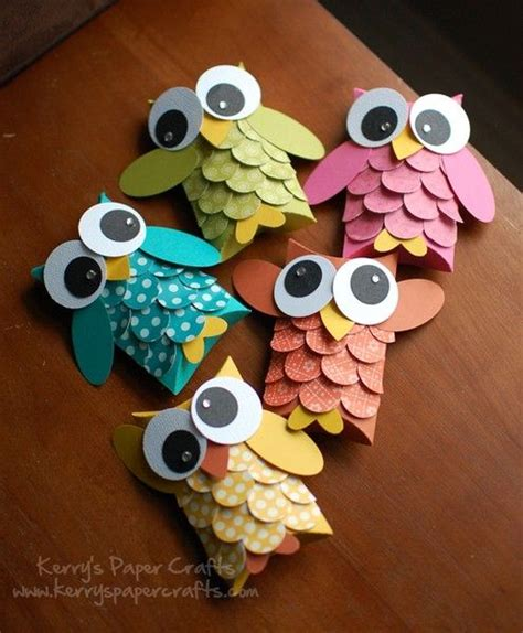 How To Make Owls Out Of Toilet Paper Rolls - make owls out of toilet paper rolls for
