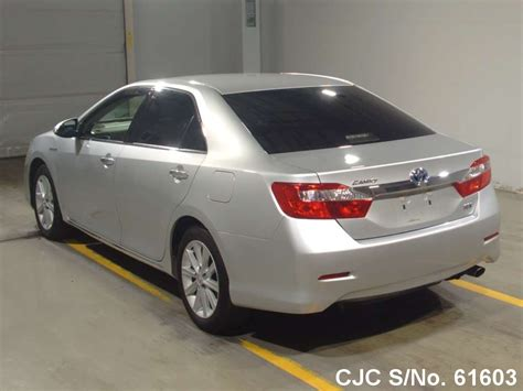2012 toyota camry hybrid for sale 2012 toyota camry hybrid silver for sale stock no 61603