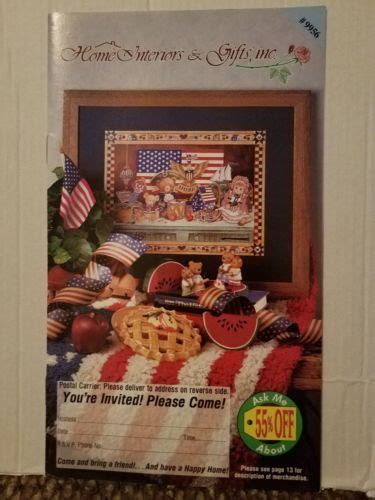 home interiors and gifts homco brochure sales catalog 1997