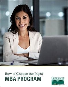 Choosing The Right Mba Concentration by Business Administration Clarkson