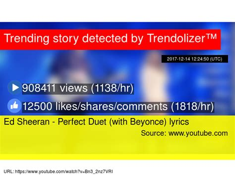 ed sheeran perfect duet lirik trendolizer beyonce