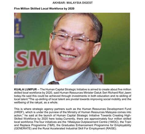 Squad Leader Tanda Jabatan press article