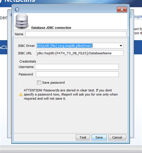 tutorial java ireport java how to connect with my database using ucanaccess