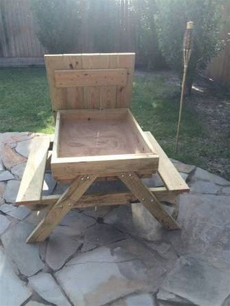 picnic table sandbox how to build a picnic table and sandbox combo diy projects for everyone