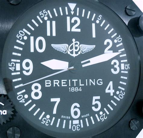 breitling cockpit dealer display wall clock large rare