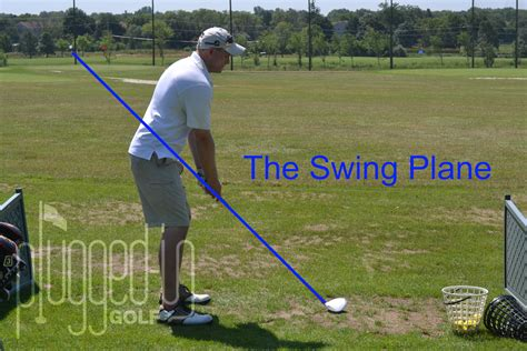 how to swing on plane in golf swing plane plugged in golf