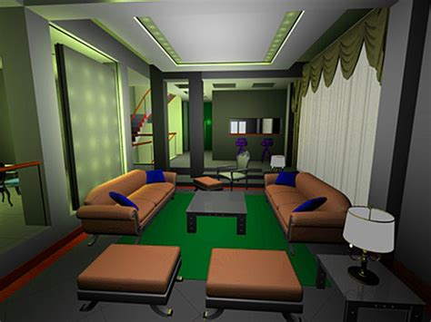 free online home office design interior design decoration home office 3ds 3d studio