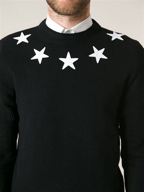 Givenchy Sweater givenchy sweater in black for lyst
