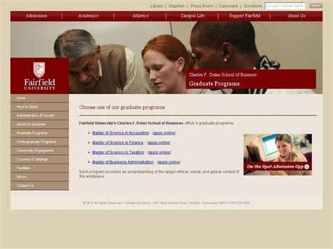 Fairfield Mba Gmat by Fairfield Dolan School Of Business Ranking
