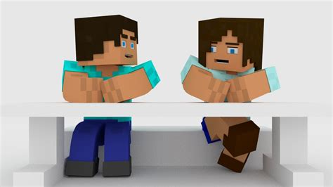 How To Make A Minecraft Person Out Of Paper - minecraft character talking test blender 2 71