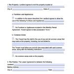 Download New Jersey Rental Lease Agreement Forms And Templates Wikidownload Month To Month Lease Nj Template