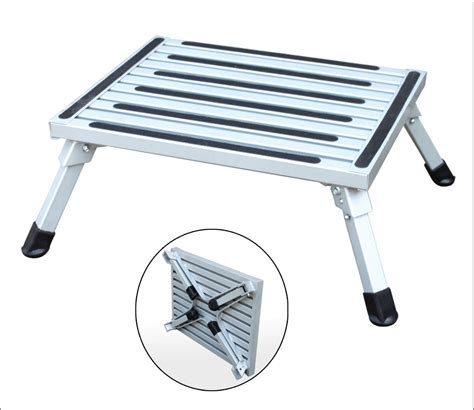 step stool for car aluminum step ladder car washing stool from yongkang weige