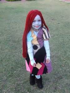 kids sally halloween costume green apple orchard sally from nightmare before christmas