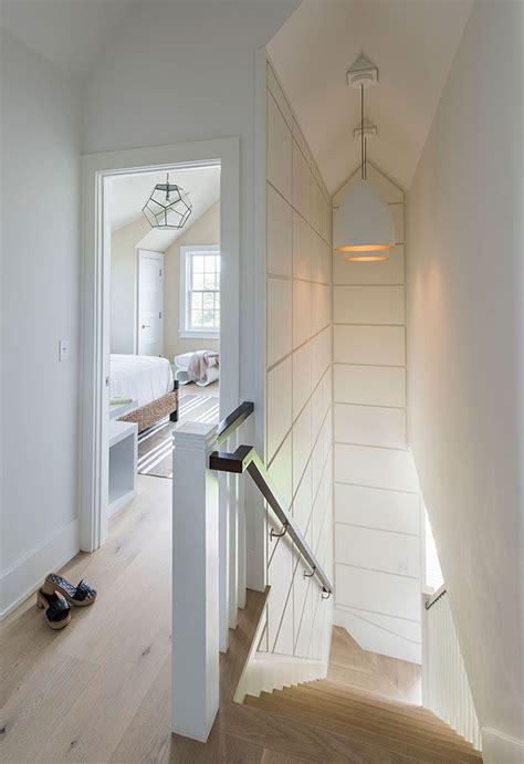 narrow staircase design  wall panelling cynthia