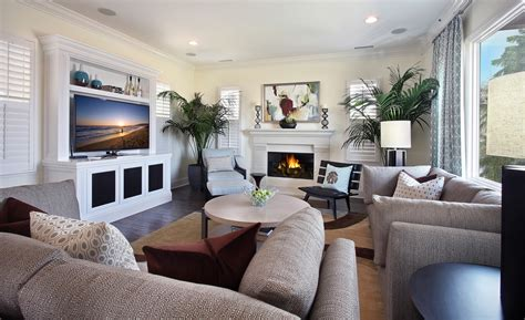Where To Place Tv In Living Room With Fireplace by Living Room Beautiful Family Room Furniture Family Room