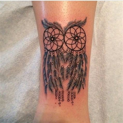 tattoo dreamcatcher with owl site unavailable