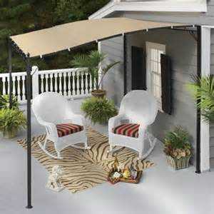 sunshade awning gazebo from through the country door 73462