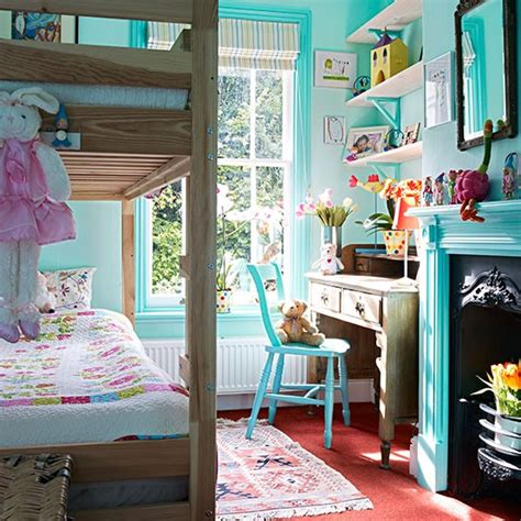 And Blue Childrens Bedroom by Blue Children S Bedroom With Bunkbed Decorating Housetohome Co Uk