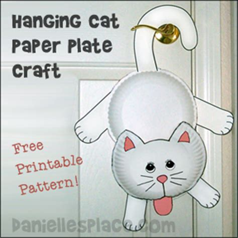 Cat Paper Plate Craft - pin cat picjpg on