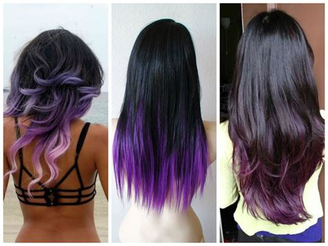 black purple hair color purple hair colors that actually look hair world