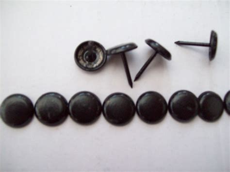 upholstery studs uk 100pack black steel upholstery furniture nails studs tacks