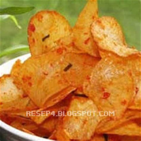 Keripik Delima Pedas Opak Asin resep keripik singkong pedas renyah resep masakan 4