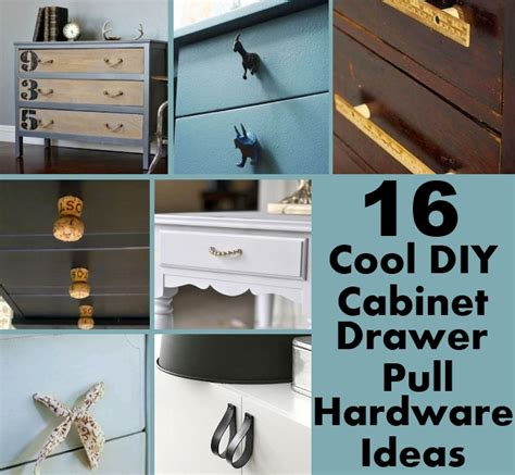 How To Make A Drawer Pull by 16 Cool Diy Cabinet Drawer Pull Hardware Ideas Diy Home