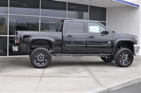 lifted 2013 chevy silverado 1500 lt southern comfort black