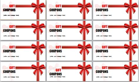 coupon template word cyberuse