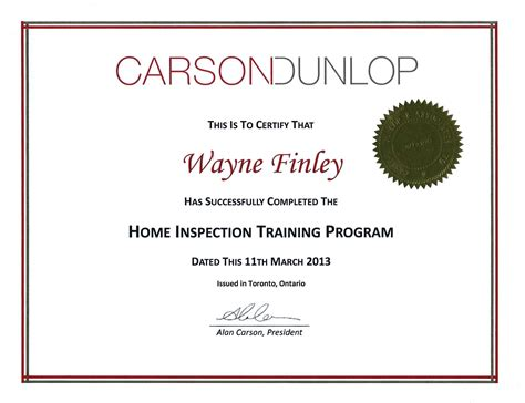 meet your home inspector about us finley home inspection