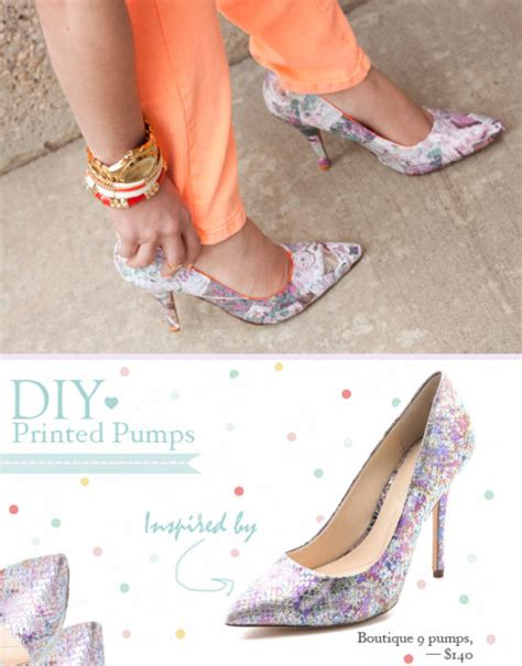 diy pumps shoes 52 shoe makeovers ideas you can do