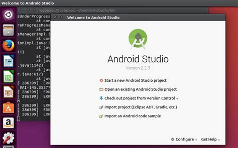 ubuntu install android studio install android studio on linux mint and ubuntu