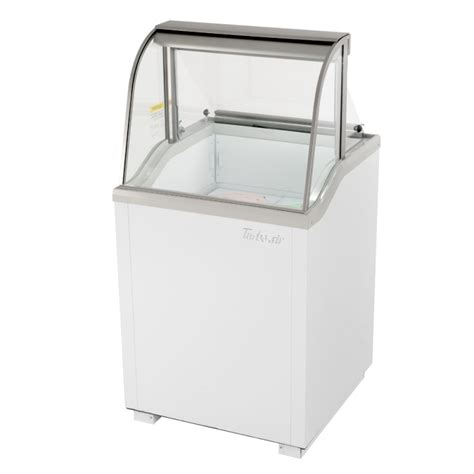 ice cream dipping cabinet turbo air tidc 26w ice cream dipping cabinet 26 quot white