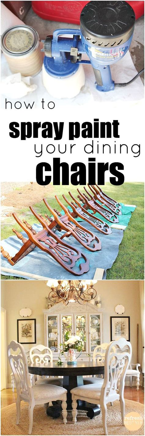 how to keep spray paint 25 best ideas about chalk paint chairs on