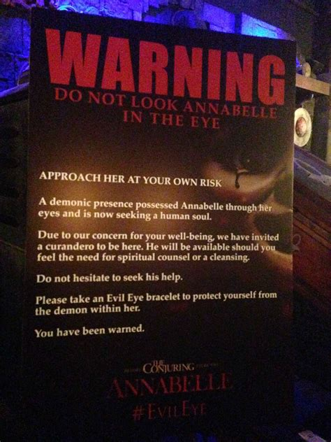 annabelle doll new york the annabelle doll makes an appearance in new york the