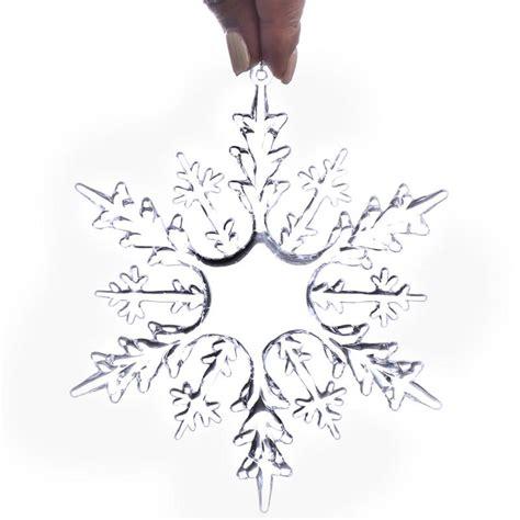 plastic snowflake ornaments clear acrylic snowflake ornaments snow snowflakes